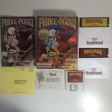 """Prince of Persia IBM Tandy Dual Pack 5.25"""" 3.5"""" 1989 - Stored Since 1992"""