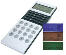 M-abacus LCD Büro Tischrechner   Rechner Taschenrechner Uhr Bürorechner Batterie
