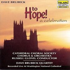 DAVE BRUBECK QUARTET CD TO HOPE! A CELEBRATION W/ RUSSELL GLOYD CONDUCTING