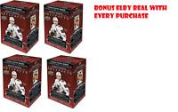 2020-21 Upper Deck Artifacts Hockey 4 Blaster Packs + 1 Rare Elby Bear Figurine