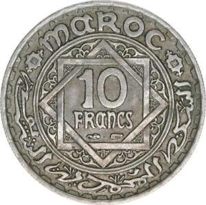 Marokko, 10 Francs 1366/1947, A67838