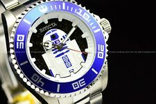 Invicta 44mm Pro Diver Limited Edition Star Wars Galaxy R2-D2 BlueWhite Watch