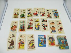 Vintage 1959 Old Maid Card Game ED-U-Cards Complete Circus Edition