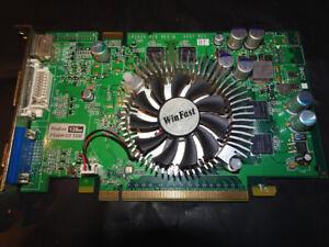 Leadtek Nvidia Geforce PX6600GT TDH GDDR3 PCIe Video Card.