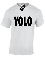 YOLO MENS T SHIRT COOL SWAG DESIGN S - 5XL