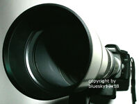 Walimex 650-1300mm f. Canon EOS 1100d 1000d 550d 500d 600d 450d 50d 60d 6d usw