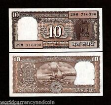 INDIA 10 RUPEES P60A 1997 FULL BUNDLE BOAT UNC INDIAN MONEY BILL LOT X 100 NOTE