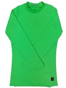 Nike Men's Pro Dri Fit Mock Top Long Sleeve Baselayer **Brand New**