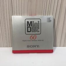 More details for rare minidisc sony mdw-60 - first original md from japan 1992 - for collector
