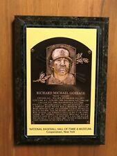 Rich Goose Gossage - Baseball Hall of Fame Induction - Ready to Hang Wall Plaque
