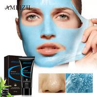 Black Mask Peel Off Blue Mud Cleansing Facial Masks Blackhead Remover Skincare