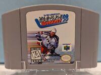 Wayne Gretzky's 3D Hockey '98 (Nintendo 64, 1997) Cartridge - Authentic & Tested