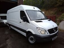 2012 61 MERCEDES SPRINTER 313 CDI 6 SPEED LWB 4 METER VAN 1 COMPANY OWNER