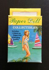Small Boxed Set BATHING BEAUTY Paper Dolls Collectibles, 1992, Uncut
