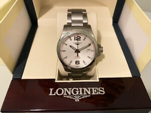 Longines V.H.P 41mm, white dial / unmark condition