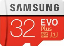 Samsung EVO Plus 32GB Micro SD SDHC UHS-I Class 10 Card With adapter