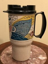 Vintage Melvyn's Coffee Insulated Travel Drink Coffee Mug Cup Collectible