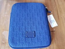 NWT Michael Kors Tablet IPad Case Royal Blue Neoprene- NWT