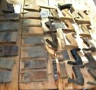Old Tools...Lot of Wood Plane Wedges and Handles, antique tools