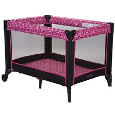 COSCO FUNSPORT PORTABLE COMPACT BABY PLAY YARD, DISCO BALL BERRY *DISTRESSED PKG