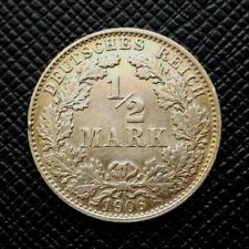 Allemagne 1/2 Mark 1906 D Argent   [543]