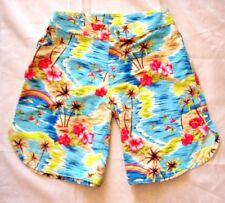 Girls Kids Board Short Flower Hawaiian Design size 10 Brand New!!!