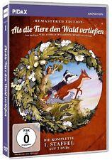 Als die Tiere den Wald verließen Staffel 1 - DVD Zeichentrick Serie Pidax Neu