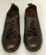 Born ALTHEA Whiskey Brown Leather Slip-On Athletic Inspired Loafer Shoes Size 7