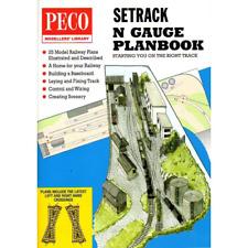 Peco IN-1 Setrack Planbook Track Plans N Gauge