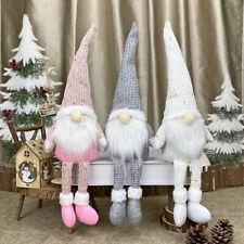 Sparkly Santa Gnomes Christmas Decorations Party Decor Kid Gift Plush Doll xmas