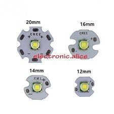 LED Cree XML T6 U2 10W Blanco Alta Potencia LED emisor en PCB 12mm 14mm 16mm 20mm