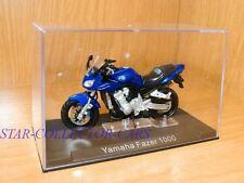YAMAHA FAZER FZS1000 FZS-1000 2001 BLUE 1/24 RARE