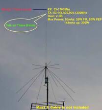 Harvest D130 25-1300mhz Super Discone Wide Band Base Antenna