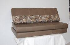 """48"""" RV Dinette Cushion Set Table Bench Camper Trailer Smile Shoreline Carl Husk"""
