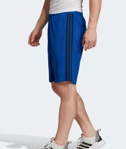 Adidas Training Shorts Mens Small Authentic Royal Blue Essentials Gym 10 Inch