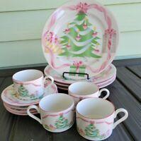 12 Pieces Sango China Home for Christmas Dinnerware Set 4829 Service for 4
