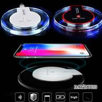 Fast QI Wireless Charger Charging Pad Dock For Apple iPhone 8 Plus X XS Max XR