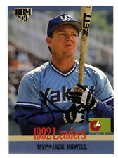 Japanese BBM Jack Howell MLB Yomiuri Giants/Japan 1992 MVP SIGNED CARD AUTOGRAPH