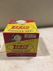 Vintage Zebco Casting Reel Box Only