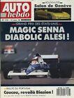 AUTO HEBDO n°718 du 14 Mars 1990 GP USA VW GOLF GTI G60 CELICA 2.0 16V GENEVE