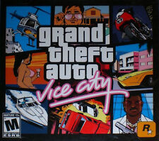 Grand Theft Auto: Vice City PC Jewel Case Version 2 disc set great shape