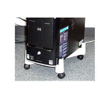 Desktop Computer Case Stand Casters Adjustable Width