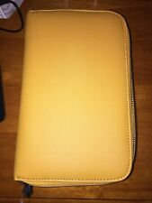 NEW Concealed Carrie Carry CCW Compact Mustard Yellow Purse Clutch
