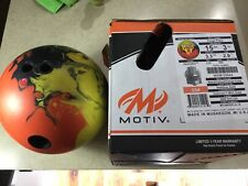 New listing Motiv Forge Flare Right Hand Drilled 15lb Bowling Ball