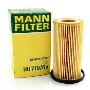 Mann-Filter Oil Filter HU719/6x fits VW GOLF MK V 1K1 2.0 FSI 2.0 GTI
