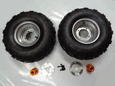 8 INCH WHEEL WITH HUB & ADAPTER FOR 40MM AXLE PAIR