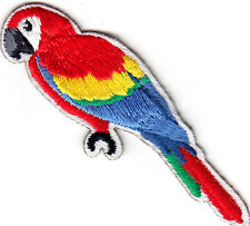 PARROT - TROPICAL - BIRDS - Iron On Embroidered Patch