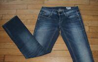 G-STAR Jeans pour Femme W 27 - L 32 Taille Fr 36 Straight  (Réf #L056)