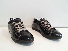 ECCO Women's Shoes Size EU 36 Black Lace Up Sneakers