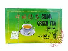 China Green Tea Bags 100 Pcs / 200G- Great Chinese Green Tea Time At Work Break